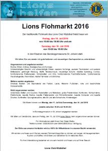 Lions Flohmarkt